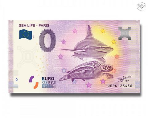 Ranska 0 € 2019 Pariisin merielämä II UNC