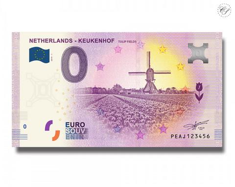 Alankomaat 0 € 2019 Keukenhauf UNC