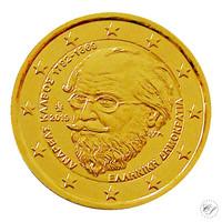 Kreikka 2 € 2019 Andreas Kalvos 150 vuotta kullattu