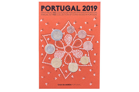 Portugali 2019 FDC rahasarja