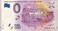 Suomi 0 € 2019 Inari - Lappiseteli UNC