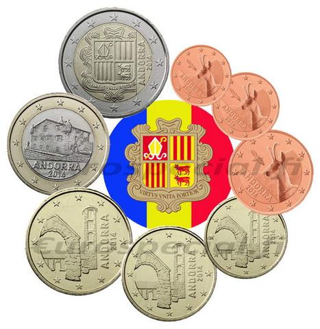 Andorra 1s- 2 € 2019 BU