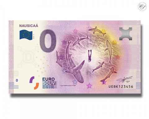Ranska 0 € 2019 Haiseteli - Nausicaá UNC