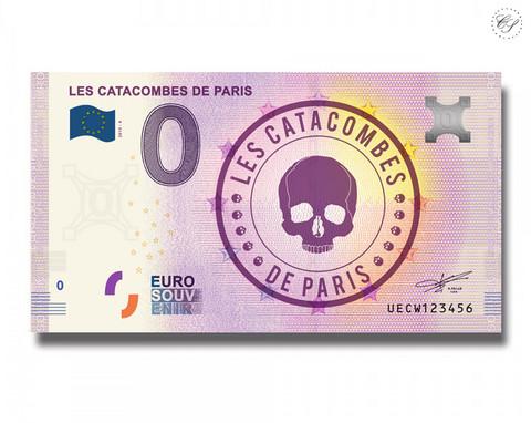 Ranska 0 € 2019 Les Catacombes de Paris UNC