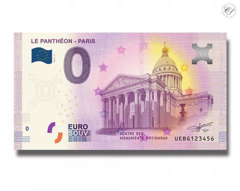 Ranska 0 € 2019 Pariisi - Le Panthéon UNC