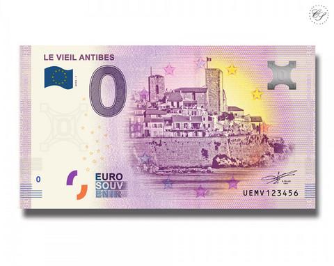 Ranska 0 € 2019 Antibes UNC