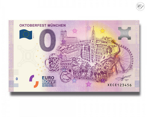 Saksa 0 € 2019 Oktoberfest Munchen UNC