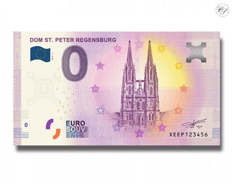 Saksa 0 € 2019 Dom St. Peter Regensburg UNC