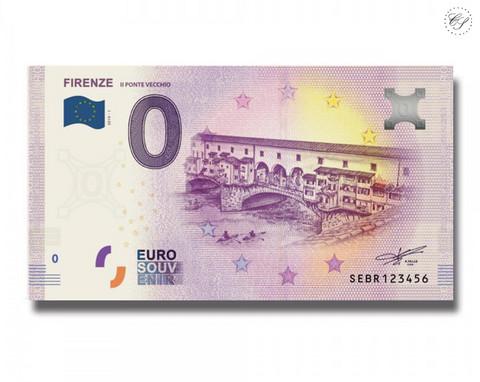 Italia 0 € 2019 Firenze - Ponte Vecchio UNC