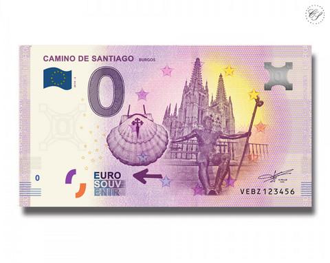 Espanja 0 € 2019 Camino de Santiago - Burgos