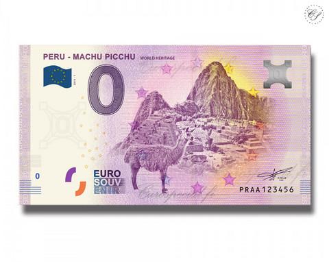 Peru 0 € 2019 Machu Picchu UNC