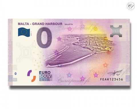 Malta 0 € 2019 Grand Harbour - Valletta UNC