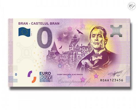 Romania 0 € 2019 Branin linna UNC