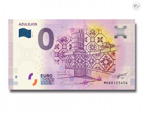 Portugali 0 € 2019 Azulejos UNC