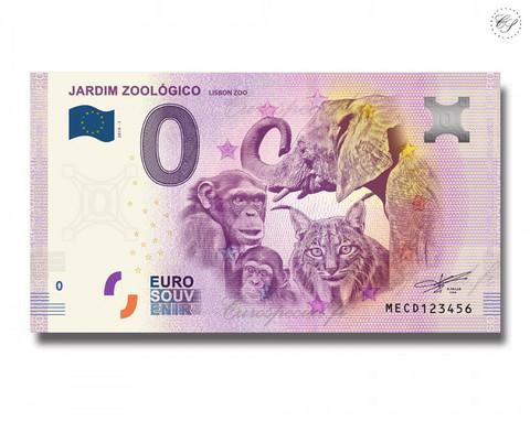 Portugali 0 € 2019 Eläinseteli - Jardim Zoológico UNC
