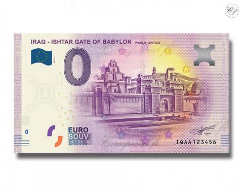 Irak 0 € 2019 Babylonin Ištarin portti UNC