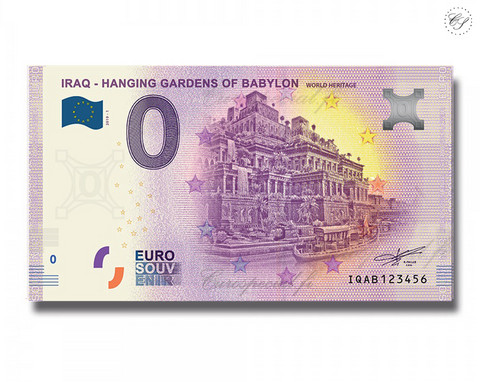 Irak 0 € 2019 Babylonin riippuvat puutarhat UNC