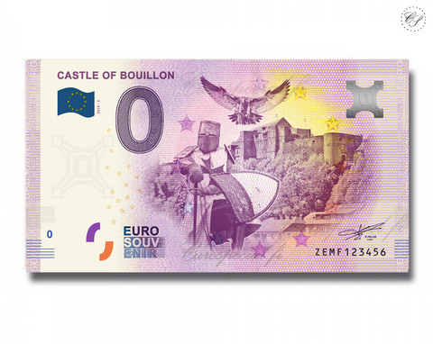 Belgia 0 € 2019 Castle of Bouillon UNC