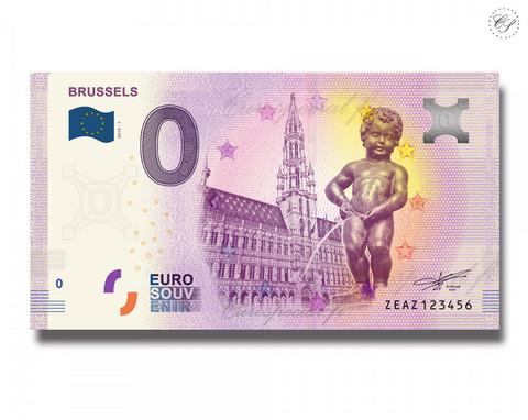 Belgia 0 € 2019 Manneken Pis - Brysseli UNC