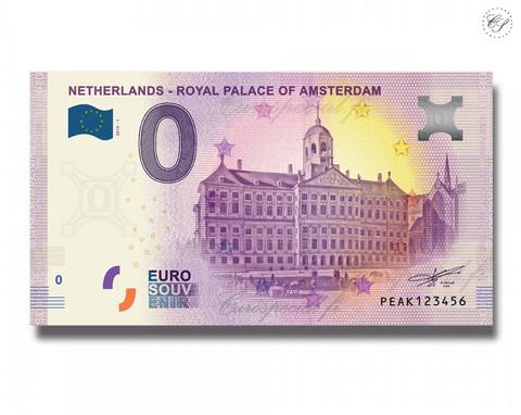 Alankomaat 0 € 2019 Amsterdamin palatsi UNC