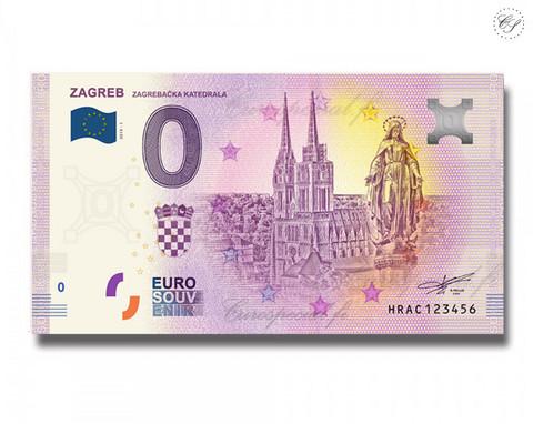Kroatia 0 € 2019 Zagrebin katedraali UNC