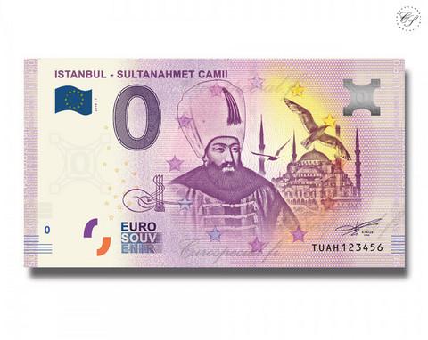 Turkki 0 € 2019 Istanbul - Sultanahmet Camii UNC