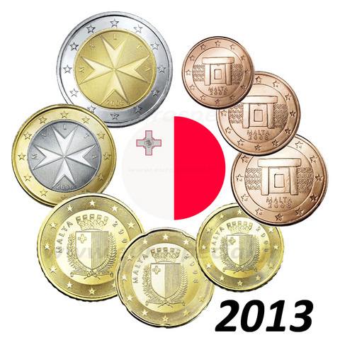 Malta 1s - 2 € 2013 BU