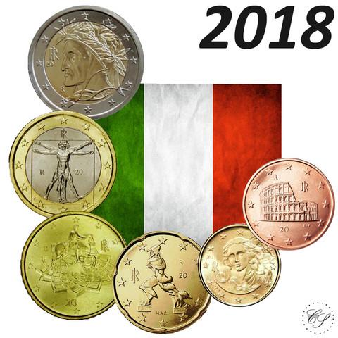 Italia 5s - 2 € 2018 UNC