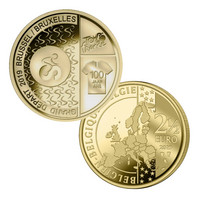 Belgia 2,5 € 2019 Tour de France BU