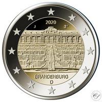 Saksa 2 € 2020 Brandenburg & Sanssouci