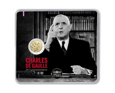 Ranska 2 € 2020 Charles de Gaulle 50 v. BU coincard