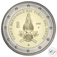 Italia 2 € 2020 Kansalliset palovoimat