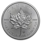 Kanada 5 $ 2020 Maple Leaf hopearaha 1 oz