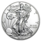 Yhdysvallat 1 $ 2020 American Silver Eagle hopearaha