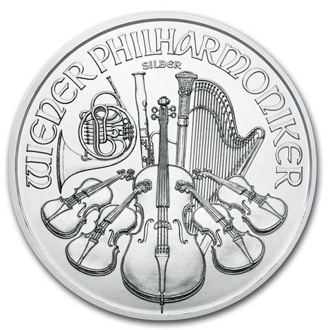 Itävalta 2020 Wienin Philharmoonikot hopearaha 1oz