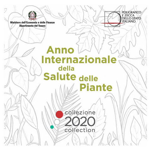 Italia 2020 BU rahasarja 8,88 € Salute delle Piante
