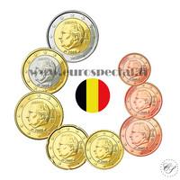 Belgia 1s - 2 € 2007 UNC