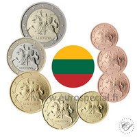 Liettua 1s - 2 € 2020 BU