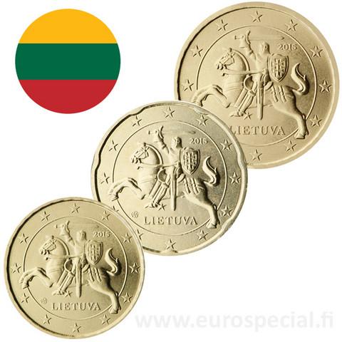 Liettua 10s, 20s & 50s 2021 BU kapseleissa