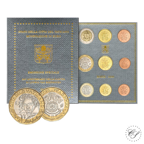 Vatikaani 2020 MMXX 8,88 € BU van Beethoven