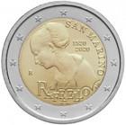 San Marino 2 € 2020 Raffaello BU