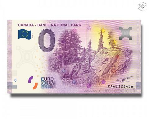 Kanada 0 € 2019 Mustakarhu - Banffin kansallispuisto UNC