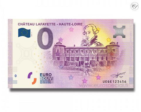 Ranska 0 € 2019 Chateau Lafayette UNC