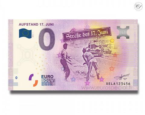 Saksa 0 € 2020 Straße des 17. Juni UNC