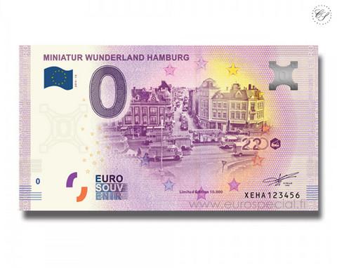 Saksa 0 € 2020 Miniatur Wunderland XIII UNC