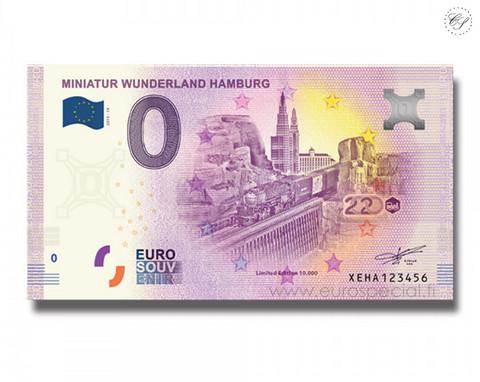 Saksa 0 € 2020 Miniatur Wunderland XIV UNC