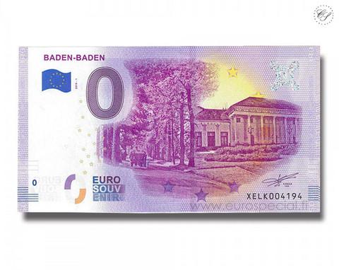 Saksa 0 € 2019 Baden-Baden UNC
