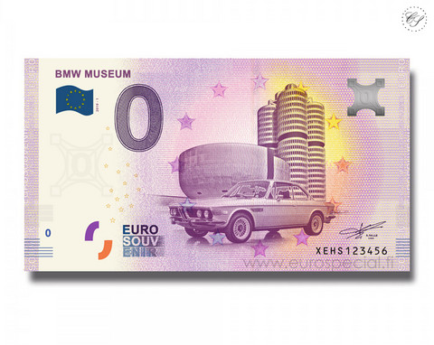 Saksa 0 € 2019 BMW-museo UNC
