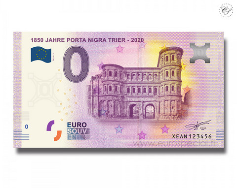 Saksa 0 € 2019 Porta Nigra -portti 1850 vuotta UNC