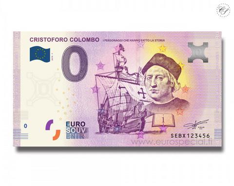 Italia 0 € 2019 Cristoforo Colombo UNC